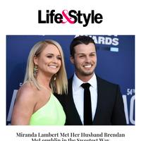 Miranda Lambert Met Her Husband Brendan McLoughlin in the Sweetest Way