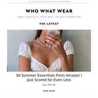 30 summer essentials from Amazon I just scored for even less