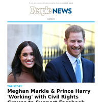 Meghan Markle & Prince Harry 'working' with civil rights groups to support Facebook boycott: source