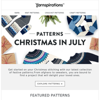 It's time for Christmas in July!