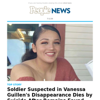 Vanessa Guillen: Suspect kills himself after remains are found in case of missing soldier