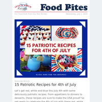 15 Patriotic Recipes for Fourth of July