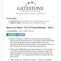 Black Lives Matter: \