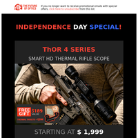 Independence Day SALE: Get the Perfect Gift for Your Scope