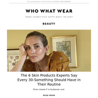 6 skin products every 30-something should have in their routine