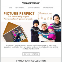 Picture perfect Christmas in July patterns