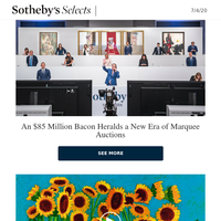 A Historic Evening of Auctions, David Hockney's Heroic Inspiration, Exceptional Watches and More