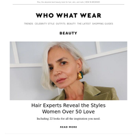 Hair experts reveal the 4 styles women over 50 love