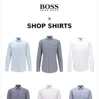 ALL DRESS SHIRTS 50% OFF