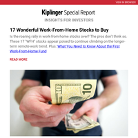 17 Wonderful Work-From-Home Stocks to Buy