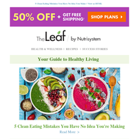 5 Clean Eating Mistakes You Have No Idea You Make