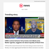 CNN's Lemon lectures Terry Crews over Black Lives Matter agenda, suggests not about equality of black lives