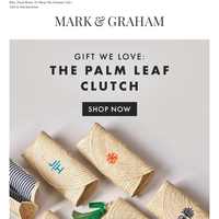 Gift We ❤: The Palm Leaf Clutch – Starting at $49