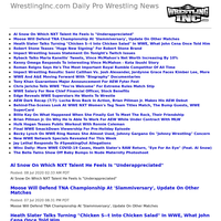 WrestlingInc.com Daily Pro Wrestling News