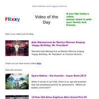 ★ Video of the Day & Quote of the Day - by Flixxy.com -