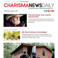 Country Music Star Charlie Daniels Dies | We Must Embrace Knowledge | Why This One Simple Thing May Be Your Best Gift for a Hurting Friend