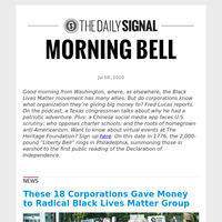 These 18 Corporations Gave Money to Radical Black Lives Matter Group