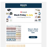 Macy's Black Friday in July—Our Picks + Free Shipping