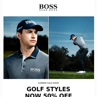 Tee Up With 50% Off Golf Styles