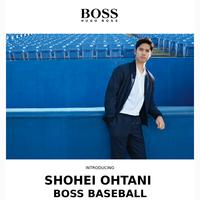 Just in: Shohei Ohtani x BOSS