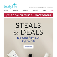 Check Out These Steals & Deals From Your Favorite Brands!