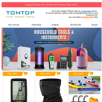 Household Tools & Instruments Special Sale, Supper-low Prices From $9.99