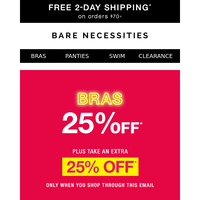 Cyber Summer Sale Starts Today! 25% Off Sitewide + Extra 25% Off Bras