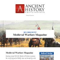 Flash Sale: Medieval Warfare Magazine 20% off📖