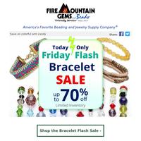Friday Flash Bracelet Sale - Today Only!