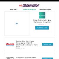 🎉lululemon Huge Online Sale   Costco Up to 30% Off   Walmart   Lowe's   Sport Chek   Loblaws Coupons & More!