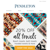 The Big Towel Sale