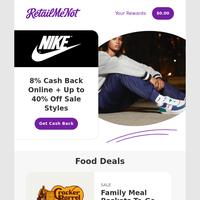 ✔️Nike Sale   Amazon   🍩Krispy Kreme   Cracker Barrel   Michaels   Old N avy   Staples & More!