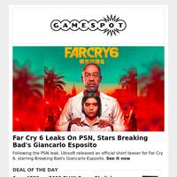 Far Cry 6 Leaks On PSN   Ubisoft Sale Live Now