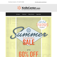 Up to 60% OFF 1,200+ Items   The Summer Clearance Sale