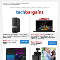 $499 Dell Vostro Core i5 + 256GB SSD Desktop   Up to 56% off Amazon Device Sale   $12 True Wireless Earbuds