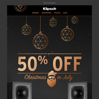 CHRISTMAS IN JULY IS HERE | Save up to 50% OFF