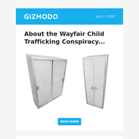About the Wayfair Child Trafficking Conspiracy...