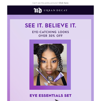 NEW VALUE SETS: DRESS UP YOUR EYES