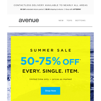 😎 You're Getting Warmer   50-75% Off* Sitewide (Including Sale!)