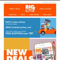 Fantastic furniture & more new deals!