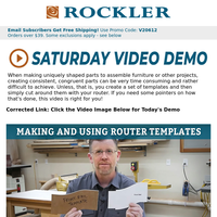 Oops!  Here's the Saturday Demo Link