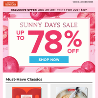 Have you shopped yet?? Shiny happy deals are waiting...