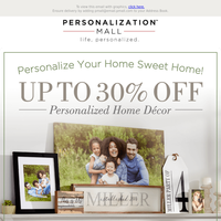 Stuck At Home? Redecorate With Up To 30% Off Home Décor!