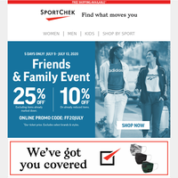 Up To $80 Off Shoes During Friends & Family