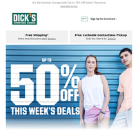 Up to 50% Off | Don't Miss This Week's Savings
