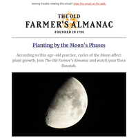 Planting by the moon's phases