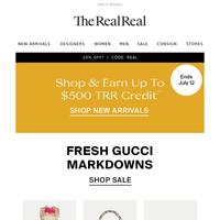 Fresh Gucci On Sale