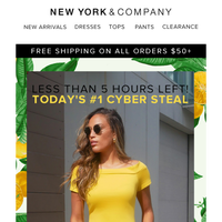 Our #1 Cyber Steal – Only 5 Hours Left
