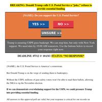 NEW YORK's USPS CLOSING 𝙸𝙽𝙳𝙴𝙵𝙸𝙽𝙸𝚃𝙴𝙻𝚈 ?!?