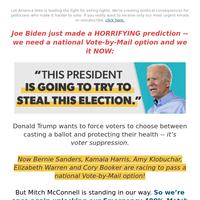 Joe Biden is SERIOUS (4X-Match Active)